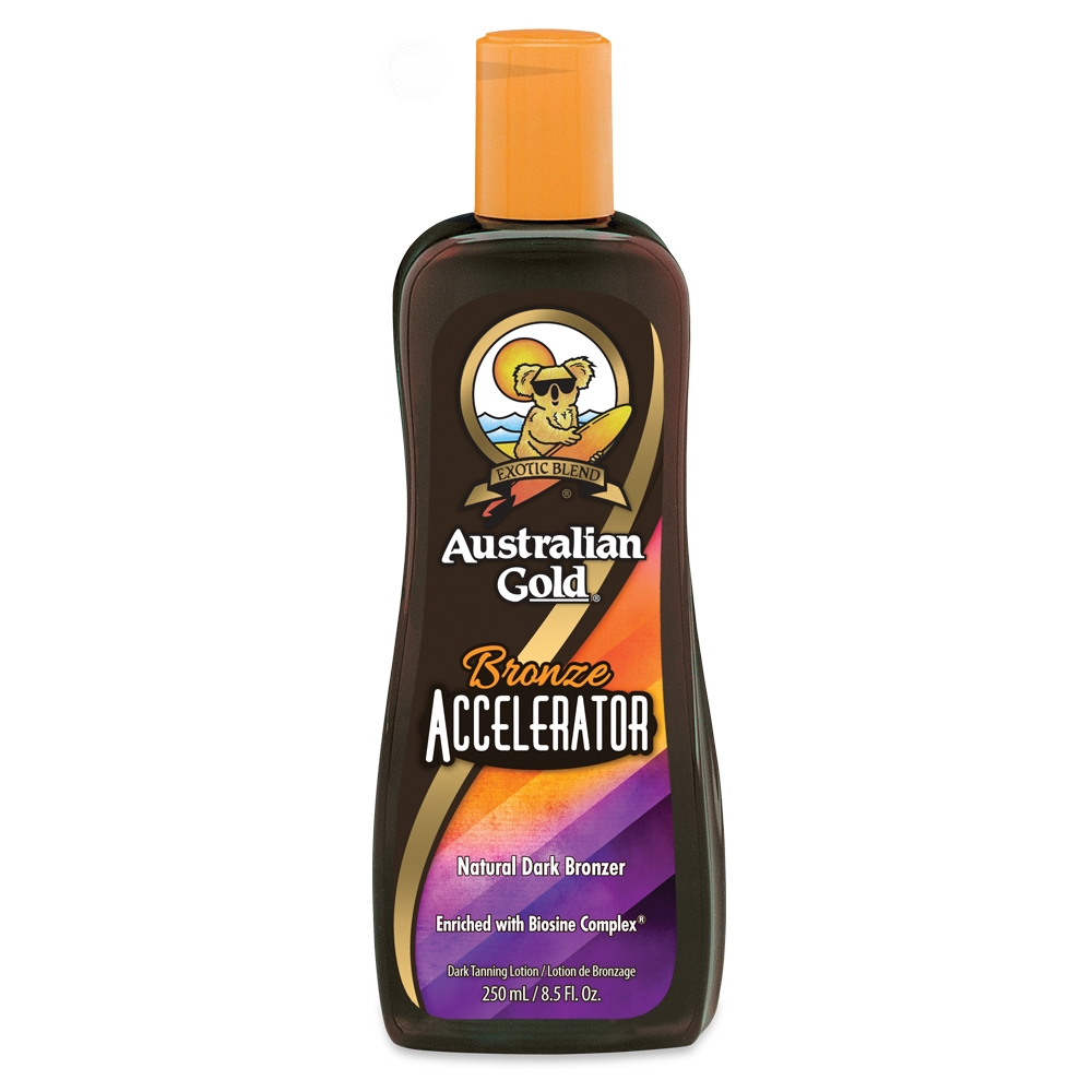 Australian Gold Bronze Accelerator - Natural Dark Bronzer 250 ml