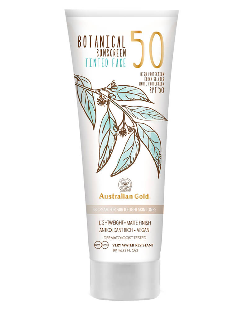 Australian Gold Botanical Sunscreen BB Cream Fair Light SPF 50  89 ml