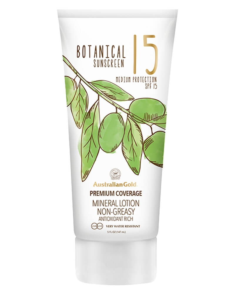 Australian Gold Botanical Sunscreen Mineral Lotion Non-Greasy SPF 15 147 ml
