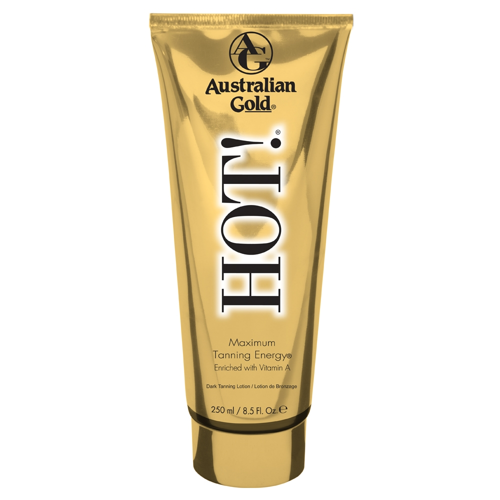 Australian Gold HOT! Maximum Tanning Energy (Guld) 250 ml