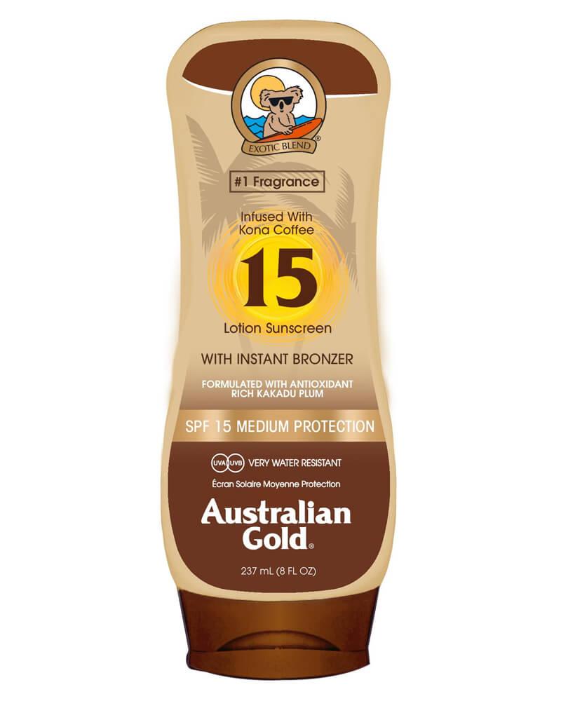 Australian Gold Lotion Sunscreen SPF 15 Bronzer 237 ml