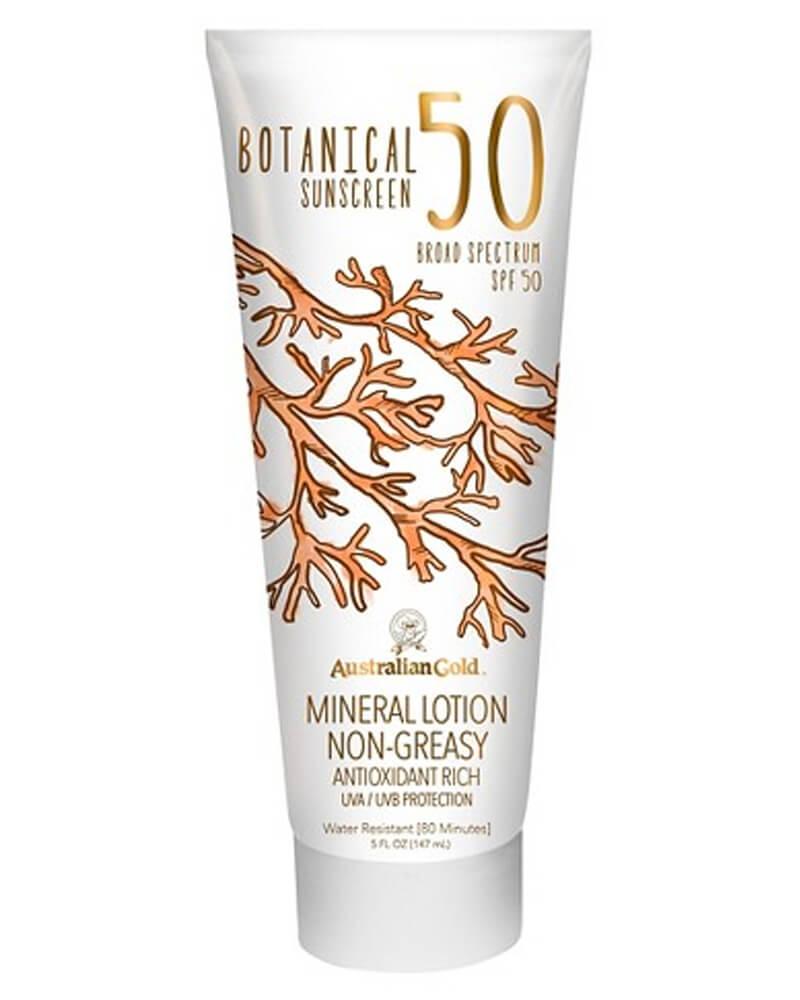 Australian Gold Botanical Sunscreen Mineral Lotion Non-Greasy SPF 50 147 ml