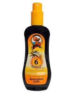 Australian Gold SprayOil Sunscreen Carrot oil Formula SPF 6 237 ml