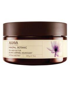 AHAVA Rich Body Butter -Lotus & Chestnut