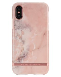 Richmond And Finch Pink Marble iPhone X