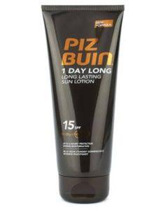 Piz Buin 1 Day Long - Long Lasting Sun Lotion SPF 15 100 ml