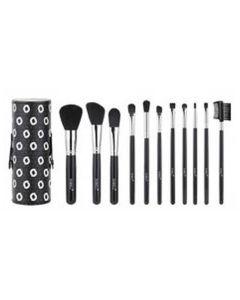Sibel Black Swan Make-up Brushes Med Etui Ref. 0010090