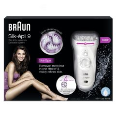 Braun Silk Epil 9 Wet & Dry Epilator Skin Spa - 9-941