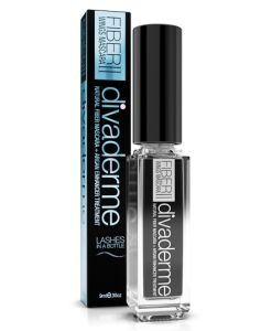 Divaderme Fiber Wings Mascara ll - Black 9 ml