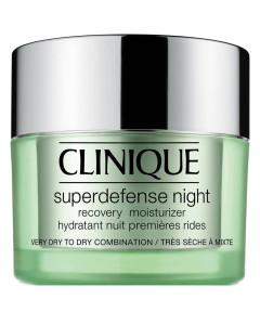 Clinique Super Defense Night Recovery Moisturizer 1-2 Very Dry to Dry Combination 50 ml