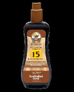 Australian Gold Spray Gel Sunscreen SPF 15 M/Selvbruner 237 ml