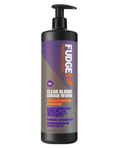 Fudge Clean Blonde Damage Rewind Violet-Toning Shampoo  1000 ml