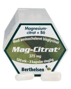 Berthelsen Naturprodukter - Mag-Citrat+B6