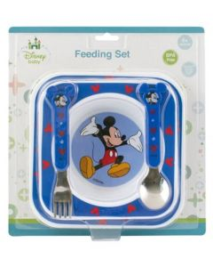 Disney Mickey Mouse Feeding Set