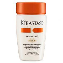 Kerastase Nutritive Bain Satin 2 shampoo (Rejse Str.) 80 ml