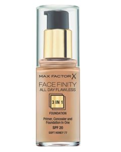 Max Factor Facefinity 3 in 1 Soft Honey 77 - 30 ml