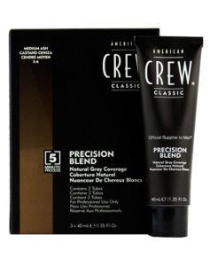 American Crew Precision Blend - Medium Ash 5-6 3x40ml
