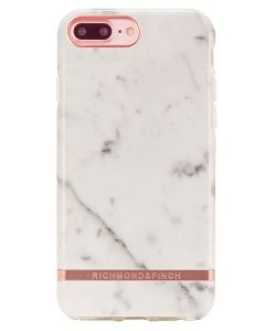 Richmond And Finch White Marble - Rose iPhone 6/6S/7/8 PLUS Cover (U)