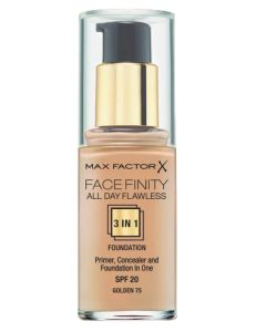 Max Factor Facefinity 3 in 1 Golden 75 - 30 ml