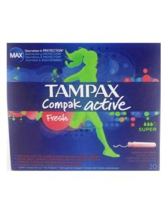 Tampax Compak Active - Fresh Super 20 stk