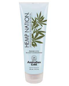 Australian Gold Hemp Nation Blended With Sea Salt And Sandalwood Body Wash 235 ml