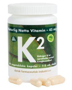 Berthelsen Naturprodukter - K2 45mcg