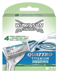 Wilkinson Sword - Quattro Titanium Sensitive