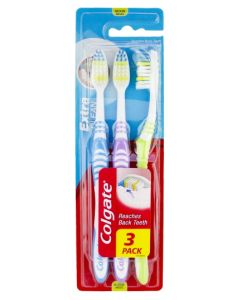 Colgate Extra Clean Tandbørster - Medium - 3 pack
