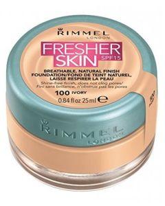Rimmel Fresher Skin Foundation SPF15 - 100 Ivory 25 ml