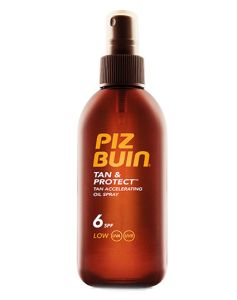 Piz Buin Tan & Protect, Tan Accelerating Oil Spray SPF 6 150 ml