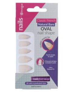 Invogue Classic French Natural Bare Oval