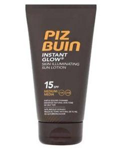 Piz Buin Instant Glow - Skin Illuminating Sun Lotion SPF 15 150 ml