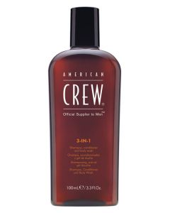 American Crew 3-in-1 Shampoo 100 ml