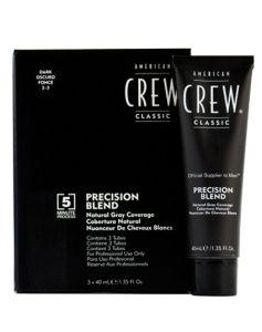 American Crew Precision Blend - Dark 2-3 3 x 40 ml