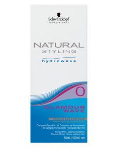 Schwarzkopf Natural Styling Hydrowave Glamour Wave 0 KIT/100ml (U) 80 ml