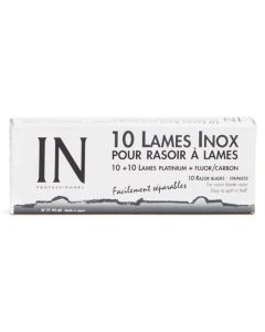 Sibel IN Professionel Inox Barberblade universal 165mm x 22mm Dobbelbladet Ref.7719160