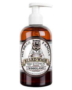 Mr Bear Family Beard Wash - Woodland 250 ml