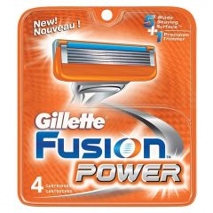 Gillette Fusion Power - 4 pak