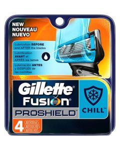 Gillette Fusion Proshield Chill 4pak