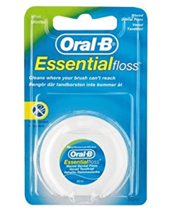 Oral B Essential floss mynte - waxed