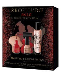 Orofluido Asia Beauty Set (50ml Elixir + 2 Asia Neglelak)