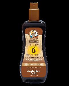 Australian Gold Spray Gel Sunscreen SPF 6 M/Selvbruner 237 ml