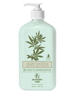 Australian Gold Hemp Nation - Sea Salt & Sandelwood Moisturizer Creme 535 ml