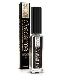 Divaderme Brow Extender ll - Chocolate Brown 9 ml