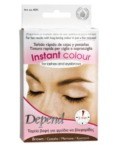 Depend Instant Colour For Lashes And Eyebrows - Brown - Art. 4041 5 ml