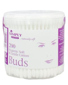 Simply Cotton - Vatpinde 200 stk