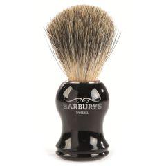 Barburys Shaving Brush - Grey Silhouette 0000606
