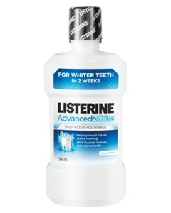 Listerine Advanced White Mundskyl 500 ml
