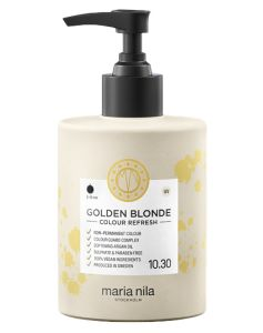 Maria Nila Colour Refresh - Golden Blonde 10,30 (U) 300 ml