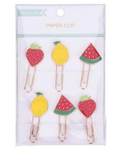Krea Paper Clips Lemon